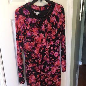 London Times sheath midi dress